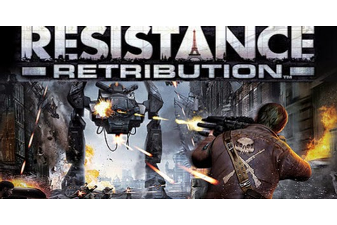 resistance retribution psp iso download