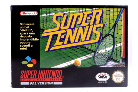 Super Tennis - SNES | Retro Console Games | Retromagia