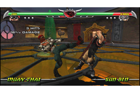 Download Game Mortal Kombat - Unchained PSP ISO USA - PC-Zone