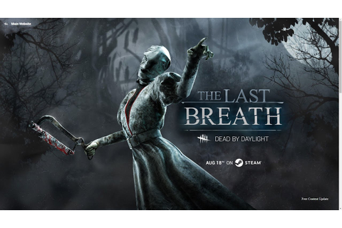 Dead By Daylight: The Last Breath DLC - Day 1 is Live ...