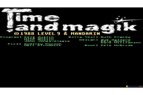 Time and Magik Trilogy, The gameplay (PC Game, 1988) - YouTube