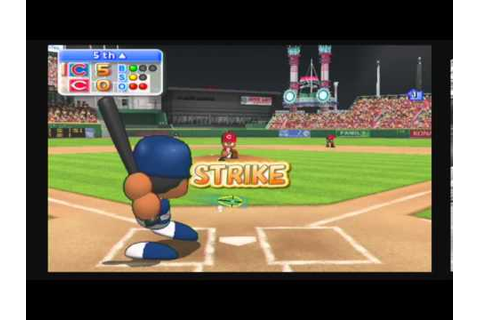 MLB Power Pros 2008 (Wii) NLCS Game #4 Cubs @ Reds - YouTube