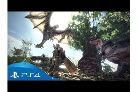 Monster Hunter: World | PS4 Games | PlayStation