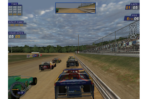 Abandonware Games / Dirt Track Racing 2