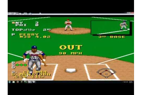 Ken Griffey Jr. Presents Major League Baseball SNES - YouTube