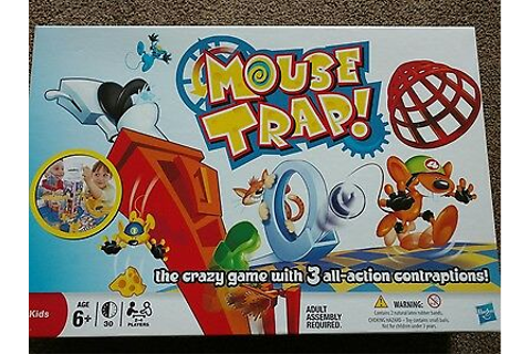 Mouse Trap Board Game - The Crazy Game with 3 Action ...