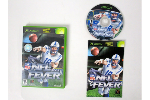 NFL Fever 2002 game for Xbox (Complete) | The Game Guy
