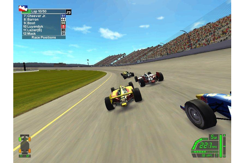 IndyCar Series Download (2003 Simulation Game)
