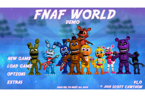 Five Nights at Freddy's World (FNAF WORLD) Gameplay Demo ...
