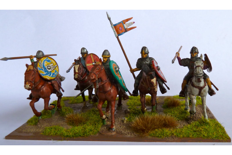 Dux Homunculorum: Conquest Games 28mm Norman Knights