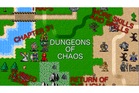 Dungeons of Chaos Expansion (retro RPG for Android and iOS ...