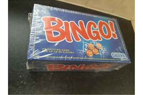 Bingo Modern Manufacture Board and Traditional Games for ...