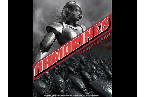 Armorines - Project S.W.A.R.M. - YouTube