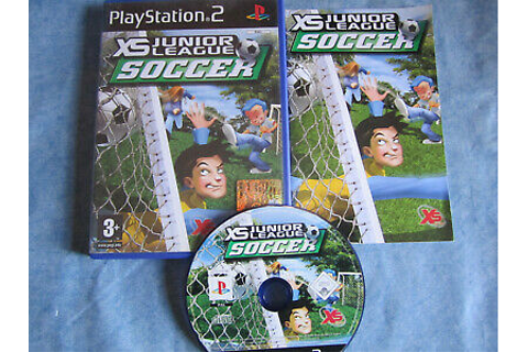 XS Junior League Soccer for ps2 boxed pal ita | eBay