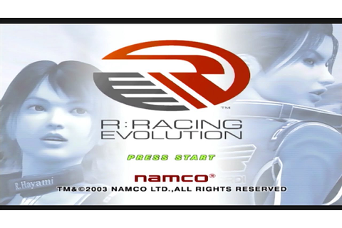R: Racing Evolution Game Sample - GameCube - YouTube
