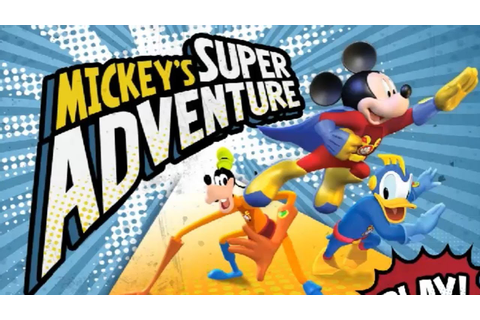 Mickey Mouse Clubhouse Mickey's Super Adventure ...