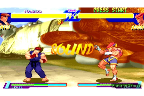 Street Fighter Alpha Anthology - Ryu Single Player Arcade ...