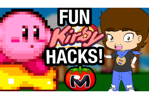 FUN Kirby HACKS and Fan Games! - ConnerTheWaffle - YouTube
