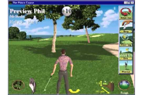 Front Page Sports Golf - Tutorial (1997, Sierra) - YouTube