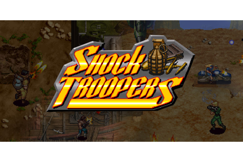 SHOCK TROOPERS | Virtual Console (Wii) | Games | Nintendo