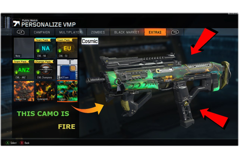 Black ops 3 Cosmic camo (Game Play) - YouTube