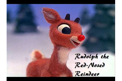 Rudolph the Red-Nosed Reindeer - Music Video (Lyrics ...