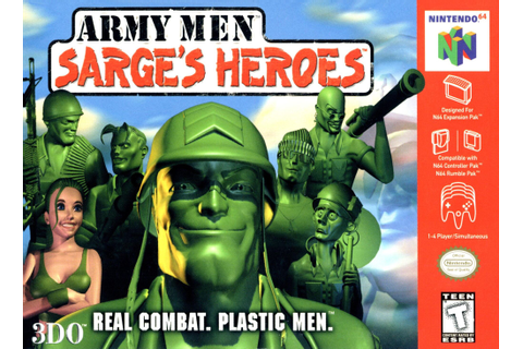 Army Men: Sarge's Heroes | Nintendo | FANDOM powered by Wikia