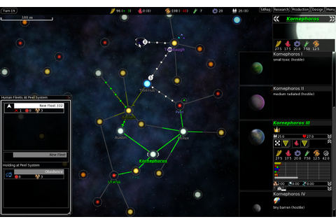 FreeOrion: A Free Open Source 4x Space Strategy Game ...