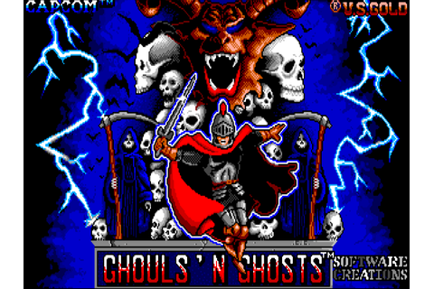 Ghouls \'N\' Ghosts : The Company - Classic Amiga Games