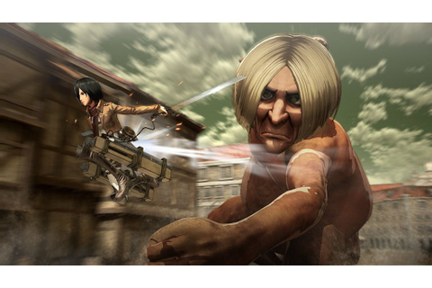 Get the Attack on Titan game for PS4 for only $38 | The ...