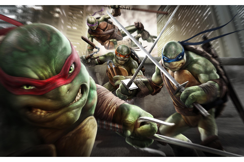 Teenage Mutant Ninja Turtles Out of the Shadows Game ...