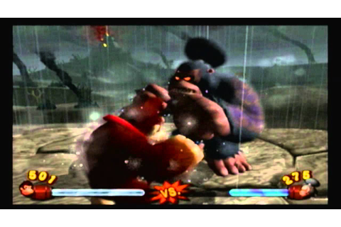 Donkey Kong Jungle Beat- Kong Bosses - YouTube