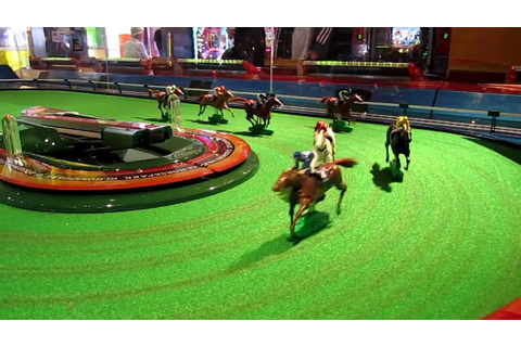 Horse racing video game - YouTube