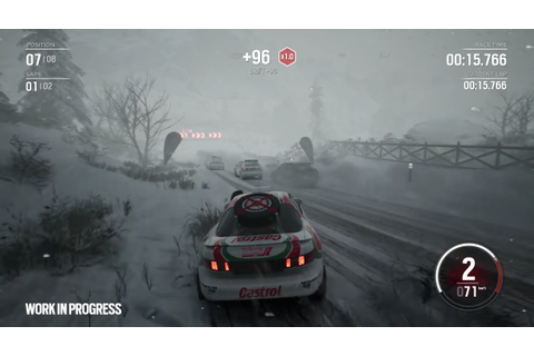 Gravel Gameplay Trailer Showcases the Snowy Mountains of ...