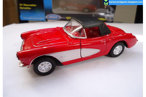 Mantovani's Game Blog: Corvette 1957 - Miniaturas carros ...