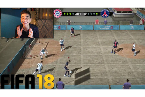 OMG NEW FIFA STREET 5 A SIDE GAME MODE ON FIFA 18 ULTIMATE ...