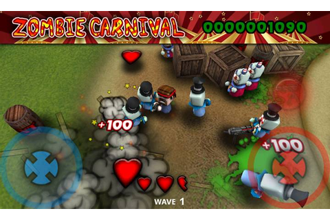 Zombie Carnival, A Fun 3D Shooting Game That You Would ...
