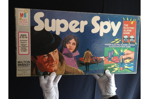 Super Spy Electronic Board Game 1971
