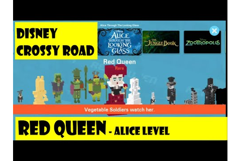 Disney Crossy Road Game - Alice Through the Looking Glass ...
