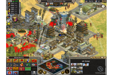 rise of nations thrones and patriots 2004 pc games