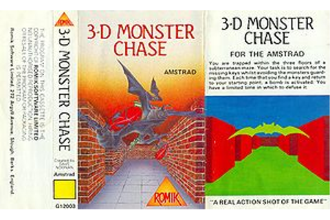 3D Monster Chase - CPCWiki