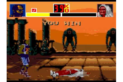 Shaq Fu (Sega Game Gear) - Part 1 of 2 - YouTube