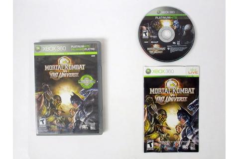 Mortal Kombat vs. DC Universe game for Xbox 360 (Complete ...