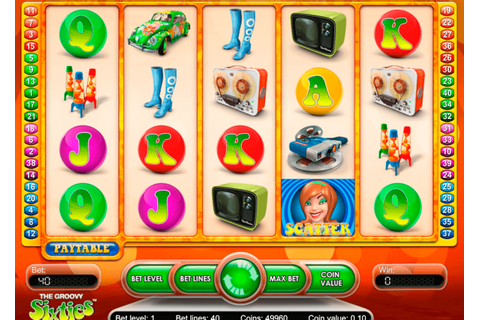 Play Groovy Sixties FREE Slot NetEnt Casino Slots Online