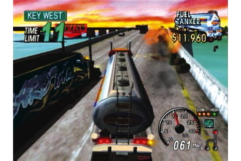 18 Wheeler American Pro Trucker Sony Playstation 2 Game