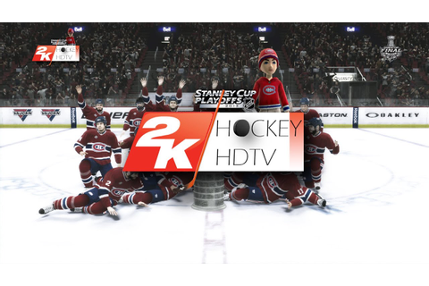 NHL 2K10: 2013 Stanley Cup Final RED WINGS v.s. CANADIENS ...