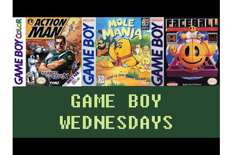 Game Boy Wednesdays #7 - Action Man: Search for Base X ...