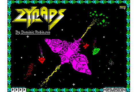 Download Zynaps - My Abandonware