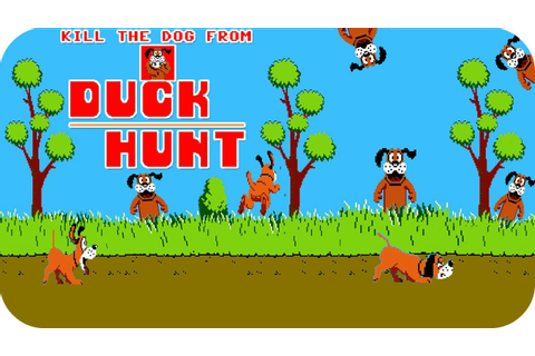 Kill The Dog From Duck Hunt - Free Flash Game - YouTube