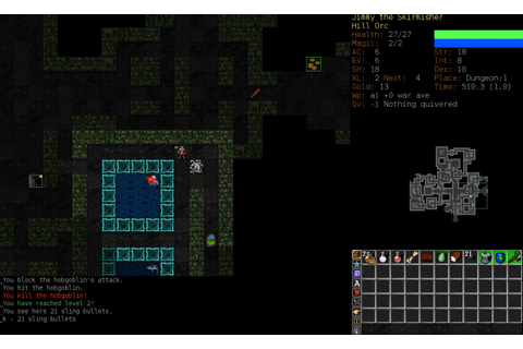 ~ξℵðεя~ Game Review: Dungeon Crawl Stone Soup Minecraft Blog